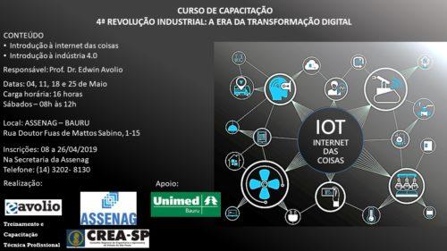 Curso de Capacitação – 4ª Revolução Industrial: a Era da Transformação Digital